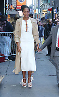 NEW YORK, NY- OCTOBER 21:  Naomie Harris at Good Morning America promoting her new film, Black And Blue on October 21, 2019 in New York City. Credit: RW/MediaPunch
