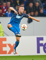 Pavel KADERABEK, Hoff 3<br /> TSG 1899 HOFFENHEIM - ISTANBUL Basaksehir  3-0<br /> Gruppe C, Football UEFA Europa League, Hoffenheim, 19.10.2017<br /> EL Saison 2017/2018<br /> <br />  *** Local Caption *** © pixathlon +++ tel. +49 - (040) - 22 63 02 60 - mail: info@pixathlon.de