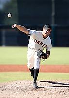 David Mixon / San Francisco Giants 2008 Instructional League..Photo by:  Bill Mitchell/Four Seam Images