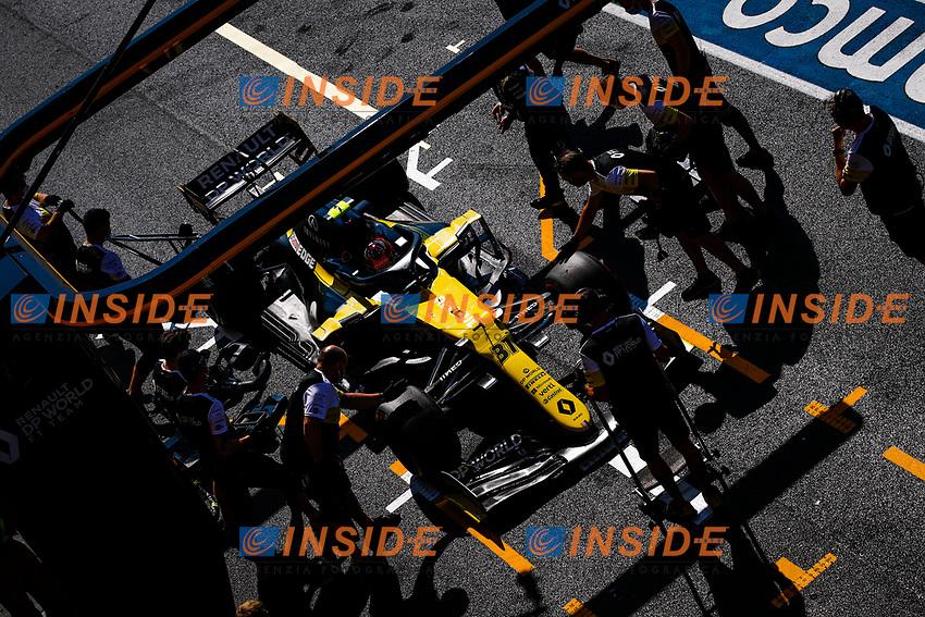 31 OCON Esteban (fra), Renault F1 Team RS20, action during the Formula 1 Pirelli Gran Premio Della Toscana Ferrari 1000, 2020 Tuscan Grand Prix, from September 11 to 13, 2020 on the Autodromo Internazionale del Mugello, in Scarperia e San Piero, near Florence, Italy  <br /> Mugello 13-09-2020 Formula 1 Gp Toscana<br /> Photo FLORENT GOODEN/DPPI/Panoramic/Insidefoto <br /> ITALY ONLY