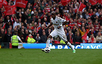 Pictured: Dwight Tiendalli.<br /> Sunday 12 May 2013<br /> Re: Barclay's Premier League, Manchester City FC v Swansea City FC at the Old Trafford Stadium, Manchester.