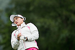 Han Sol Ji of South Korea tees off at the 2nd hole during Round 2 of the World Ladies Championship 2016 on 11 March 2016 at Mission Hills Olazabal Golf Course in Dongguan, China. Photo by Victor Fraile / Power Sport Images
