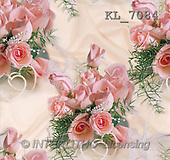 Interlitho, Erica, GIFT WRAPS, paintings, roses, pearls, heart(KL7084,#GP#) everyday