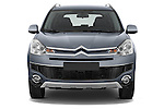 Straight front view of a 2007 - 2012 Citroen C-CROSSER Exclusive  SUV 4WD
