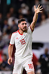 Alireza Jahan Bakhsh Jirandeh of Iran gestures during the AFC Asian Cup UAE 2019 Semi Finals match between I.R. Iran (IRN) and Japan (JPN) at Hazza Bin Zayed Stadium  on 28 January 2019 in Al Alin, United Arab Emirates. Photo by Marcio Rodrigo Machado / Power Sport Images