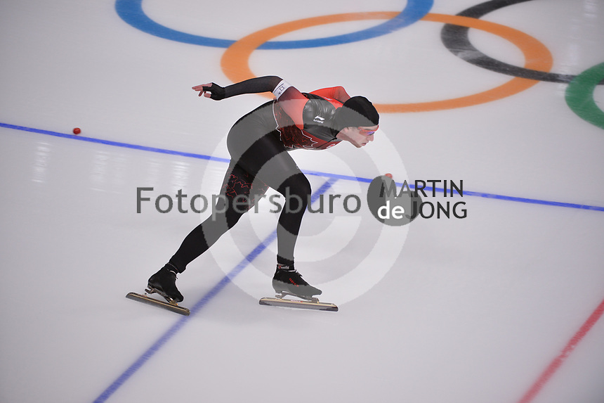 OLYMPIC GAMES: PYEONGCHANG: 23-02-2018, Gangneung Oval, Long Track, 1000m Men, ©photo Martin de Jong