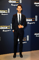 PARIS, FRANCE - FEBRUARY 24:Pierre Niney attends the Cesar's Dinner at Le Fouquet's on February 24, 2017 in Paris, France.