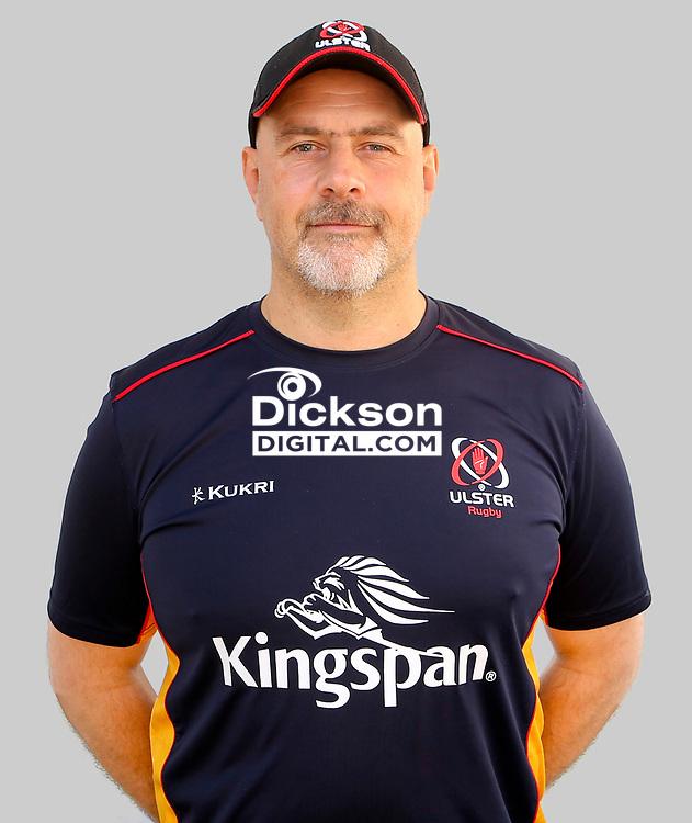 Tuesday 24th August 2021<br /> <br /> Dan McFarland - Ulster Rugby Head Coach<br /> <br /> Ulster Rugby Head Shots at Kingspan Stadium, Ravenhill Park, Belfast, Northern Ireland. Photo by John Dickson/Dicksondigital