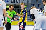 Ymir Örn Gislason (Rhein Neckar Löwen Nr.33) - beim Bundesligaspiel: Rhein Neckar Loewen gegen SC DHfK Handball Leipzig am 15.10.2020 in der SAP-Arena in Mannheim<br /> <br /> Foto © PIX-Sportfotos *** Foto ist honorarpflichtig! *** Auf Anfrage in hoeherer Qualitaet/Aufloesung. Belegexemplar erbeten. Veroeffentlichung ausschliesslich fuer journalistisch-publizistische Zwecke. For editorial use only.