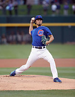 Yu Darvish - Chicago Cubs 2020 spring training (Bill Mitchell)
