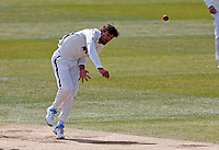 Yorkshire's Duanne Olivier bowls during Kent CCC vs Yorkshire CCC, LV Insurance County Championship Group 3 Cricket at The Spitfire Ground on 18th April 2021