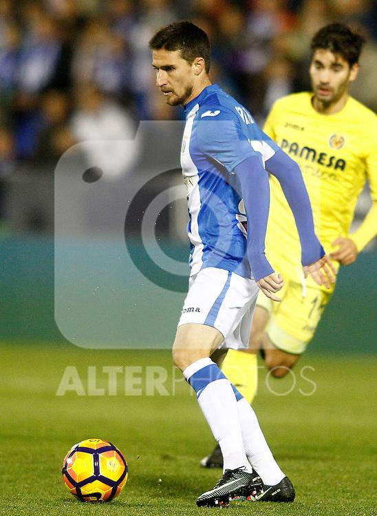 CD Leganes' Omar Ramos during La Liga match. December 3,2016. (ALTERPHOTOS/Acero)