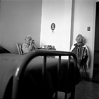 seniors in a retirement home, circa 1975<br /> in Hull or Ottawa