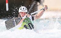 Tristan Carter, Australia, C1 Oceania Canoe Slalom Championships, Whero Whitewater Park, Auckland, New Zealand, 1st February 2020. Photo: Simon Watts/www.bwmedia.co.nz