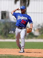 Los Angeles Dodgers minor leaguer Ivan DeJesus during Spring Training at Dodgertown on March 22, 2007 in Vero Beach, Florida.  (Mike Janes/Four Seam Images)