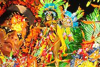 SAO PAULO, SP, 19 DE FEVEREIRO 2012 - CARNAVAL SP -  AGUIA DE OURO - Desfile da escola de samba Aguia de Ouro na segunda noite do Carnaval 2012 de São Paulo, no Sambódromo do Anhembi, na zona norte da cidade, neste domingo.(FOTO: ADRIANO LIMA  - BRAZIL PHOTO PRESS).