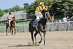 Calvin Borel and Rachael Alexander return from win in The Mother Goose Stakes 6/27/09