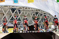 31st August 2020, Nice to Sisteron, France; Tour de France cycling tour, stage 3;  Team LOTTO SOUDAL