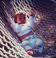 Baby in hammock<br />