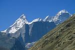 White Sail, Himachal Pradesh, India, August 2001.