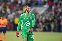 LOS ANGELES, CA - AUGUST 25: Matt Turner #30 of the MLS All Stars during a game between Liga MX All Stars and MLS All Stars at Banc of California Stadium on August 25, 2021 in Los Angeles, California.