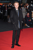 """Tom Felton<br /> at the London Film Festival premiere for """"A United Kingdom"""" at the Odeon Leicester Square, London.<br /> <br /> <br /> ©Ash Knotek  D3160  05/10/2016"""