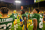 Green Bay Packers Family Night at Lambeau Field in Green Bay on Friday, August 2, 2019.