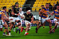 Du'Plessis Kirifi in action during the Mitre 10 Cup rugby match between Wellington Lions and  Bay Of Plenty Steamers at Sky Stadium in Wellington, New Zealand on Friday, 25 September 2020. Photo: Dave Lintott / lintottphoto.co.nz
