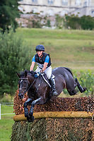 Le Grand Complet 2020. Haras du Pin. CCIO4*. Cross Country.<br /> Bruce HASKELL (NZL). AMIRO SKY<br /> Photographie FEI / Eric KNOLL