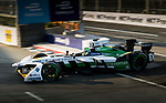 Lucas di Grassi of Brazil from Audi Sport ABT Schaeffler competes in the FIA Formula E Hong Kong E-Prix Round 1 at the Central Harbourfront Circuit on 02 December 2017 in Hong Kong, Hong Kong. Photo by Marcio Rodrigo Machado / Power Sport Images