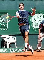 12-7-06,Scheveningen, Siemens Open, second round match, Garcia-Lopez