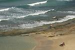 Israel, Sharon region, Beach of Hadera