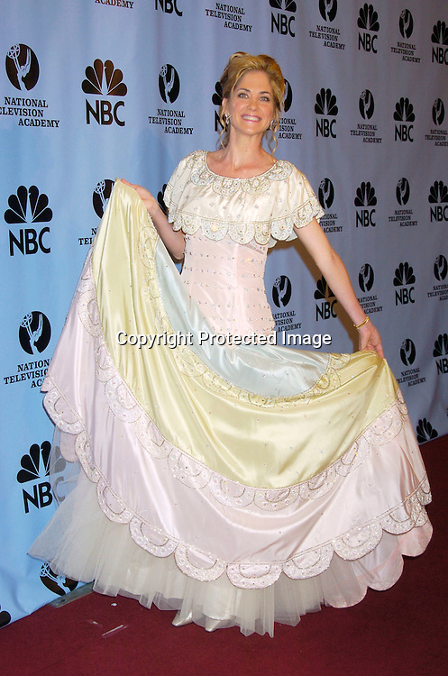 Kassie DePaiva..at the Daytime Emmy Awards on May 21, 2004 in the Press Room at Radio City Music Hall...Photo by Robin Platzer, Twin Images