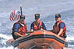 Coast Guard Coming To Board Boat