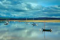 The River Findhorn, Findhorn Bay, Findhorn, Moray
