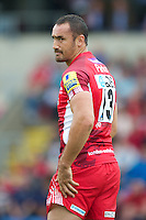 Sonny Parker of London Welsh during the Aviva Premiership match between London Welsh and Leicester Tigers at the Kassam Stadium on Sunday 2nd September 2012 (Photo by Rob Munro)