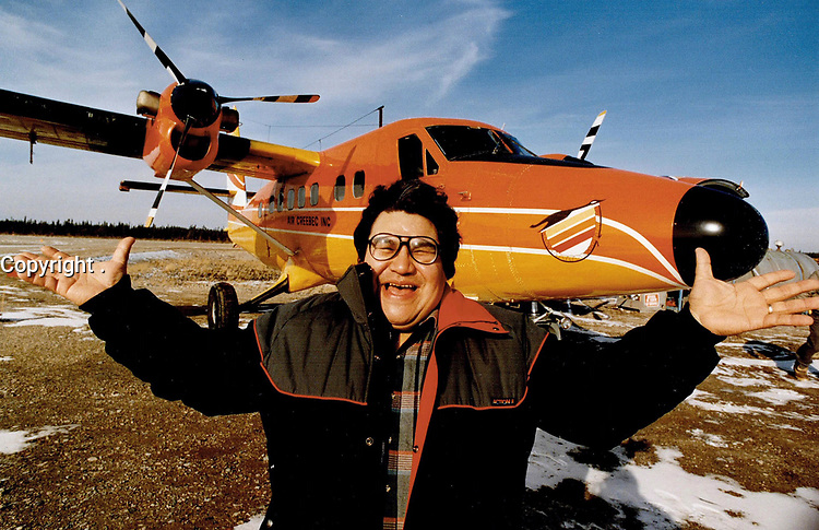 1987 FILE PHOTO - ARCHIVES -<br /> <br /> Chief Billy. Contemporary shaman, born-again Christian, Cree capitalist<br /> <br /> 1987<br /> <br /> PHOTO :  Collin McConnell - Toronto Star Archives - AQP