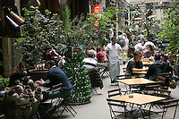 Cafe at the Tunel Passage, Istanbul, Turkey