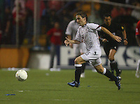 USA's Bobby Convey dribbles the ball during a 3-0 loss to Costa Rica, in San Jose, Costa Rica, Saturday, Oct. 8, 2005. (Photo by Brooks Parkenridge)