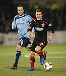 Dean Shiels on the attack