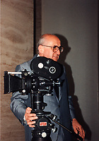 Montreal (Qc) CANADA - File Photo - circa 1989 -<br /> <br /> Henri Veilleux<br /> <br /> taken at Montreal's  World Film Festival