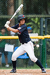 #3 Ono Ayumi of Japan bats during the BFA Women's Baseball Asian Cup match between South Korea and Japan at Sai Tso Wan Recreation Ground on September 2, 2017 in Hong Kong. Photo by Marcio Rodrigo Machado / Power Sport Images