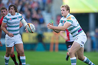 20120803 Copyright onEdition 2012©.Free for editorial use image, please credit: onEdition..Jamie Gibson of London Irish at The Recreation Ground, Bath in the Final round of The J.P. Morgan Asset Management Premiership Rugby 7s Series...The J.P. Morgan Asset Management Premiership Rugby 7s Series kicked off again for the third season on Friday 13th July at The Stoop, Twickenham with Pool B being played at Edgeley Park, Stockport on Friday, 20th July, Pool C at Kingsholm Gloucester on Thursday, 26th July and the Final being played at The Recreation Ground, Bath on Friday 3rd August. The innovative tournament, which involves all 12 Premiership Rugby clubs, offers a fantastic platform for some of the country's finest young athletes to be exposed to the excitement, pressures and skills required to compete at an elite level...The 12 Premiership Rugby clubs are divided into three groups for the tournament, with the winner and runner up of each regional event going through to the Final. There are six games each evening, with each match consisting of two 7 minute halves with a 2 minute break at half time...For additional images please go to: http://www.w-w-i.com/jp_morgan_premiership_sevens/..For press contacts contact: Beth Begg at brandRapport on D: +44 (0)20 7932 5813 M: +44 (0)7900 88231 E: BBegg@brand-rapport.com..If you require a higher resolution image or you have any other onEdition photographic enquiries, please contact onEdition on 0845 900 2 900 or email info@onEdition.com.This image is copyright the onEdition 2012©..This image has been supplied by onEdition and must be credited onEdition. The author is asserting his full Moral rights in relation to the publication of this image. Rights for onward transmission of any image or file is not granted or implied. Changing or deleting Copyright information is illegal as specified in the Copyright, Design and Patents Act 1988. If you are in any way unsure of your right to publish this image please contact onEdition on 084