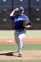 Blake Beavan  - Texas Rangers - 2009 spring training.Photo by:  Bill Mitchell/Four Seam Images