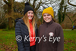 Enjoying a stroll in the Killarney National park on Saturday, l to r: Rebecca O'Connell and Beth Coffey