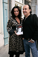 Sophie Chiasson book launch, 2006-09-21.<br /> <br /> she is a weather presentator on TVA who won a diffamtion lawsuit against Quebec City Genex radio host Jeff Fillion<br /> Photo by P. Roussel / Images Distribution