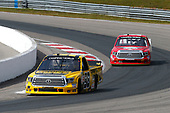 NASCAR Camping World Truck Series<br /> Chevrolet Silverado 250<br /> Canadian Tire Motorsport Park<br /> Bowmanville, ON CAN<br /> Sunday 3 September 2017<br /> Grant Enfinger, Ride TV Toyota Tundra and Austin Self, Don't Mess With Texas\B&D Industries Toyota Tundra<br /> World Copyright: Russell LaBounty<br /> LAT Images