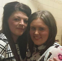 """Pictured: Danielle Prosser (R)<br /> Re: A young mum who used a four-inch stiletto heel to carry out an horrific attack on an innocent couple has walked free from court.<br /> Danielle Prosser, 29, took off the shoe and lunged at the startled pair outside a nightclub, causing horrific injuries.<br /> Sophie Rees, 19, was knocked unconscious and needed to have her scalp stapled back together.<br /> Her boyfriend Matthew Lloyd, 20, needed surgery to his cheek after suffering severe facial injuries caused by the sharp heel.<br /> A judge said the injuries were so severe the offences merited going to prison.<br /> But mother-of-three Prosser was let off with a suspended sentence because she was sorry for her """"moments of stupidity.""""<br /> Prosser was filmed approaching the couple armed with the black stiletto outside Coolers nightclub in Merthyr Tydfil, South Wales.<br /> The court heard there was had been banter as revellers left the venue at 2am with drink and food being thrown."""