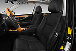 Front seat view of 2016 Lexus LS 600h L 4 Door Sedan Front Seat  car photos