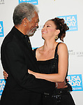 Morgan Freeman & Ashley Judd at The 4th annual USA TODAY Hollywood Hero Award Gala honoring Ashley Judd held at The Montage Beverly Hills in Beverly Hills, California on November 10,2009                                                                   Copyright 2009 DVS / RockinExposures